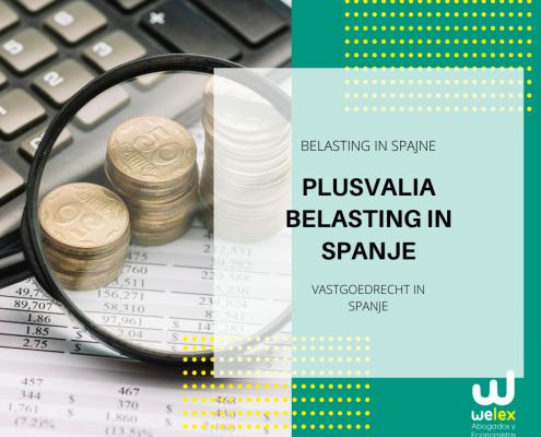 PLUSVALIA BELASTING IN SPANJE